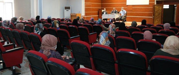 4-6 yaş grubu Kur'an Kursu öğreticileriyle istişare toplantısı yapıldı