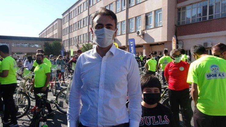 Kayseri'de 'Doktorlar Bisiklet Turu' yapıldı