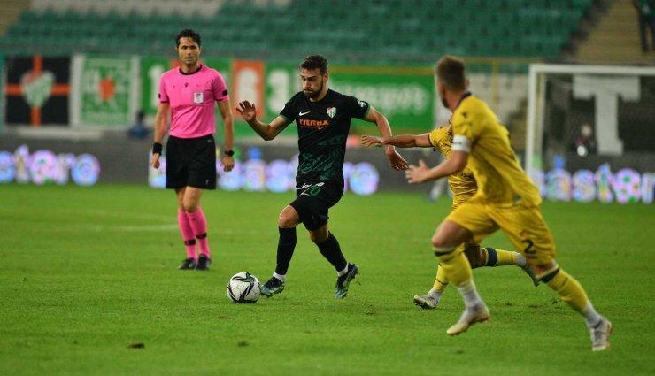 TFF 1. Lig: Bursaspor: 0 - MKE Ankaragücü: 4