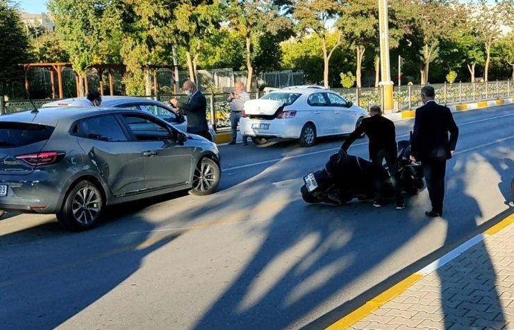 Elazığ'da zincirleme trafik kazası: 1 yaralı