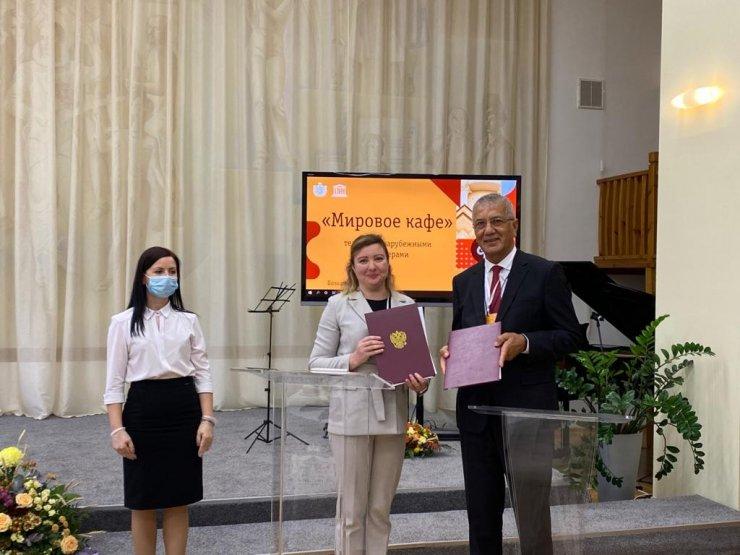 Mezitli Belediyesi'ne Rusya'dan müzik ödülü