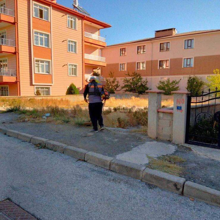 Erzincan'da genel temizlik çalışmalarına devam ediyor