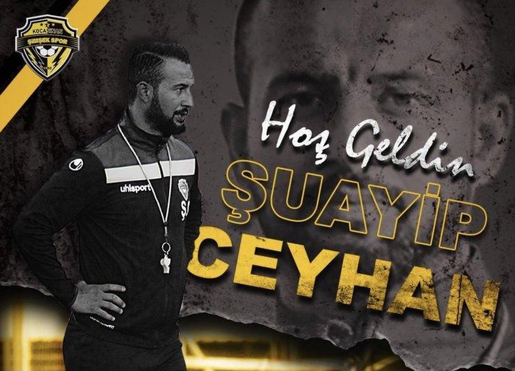 Kocasinan Şimşekspor'un yeni antrenörü Şuayip Ceyhan oldu