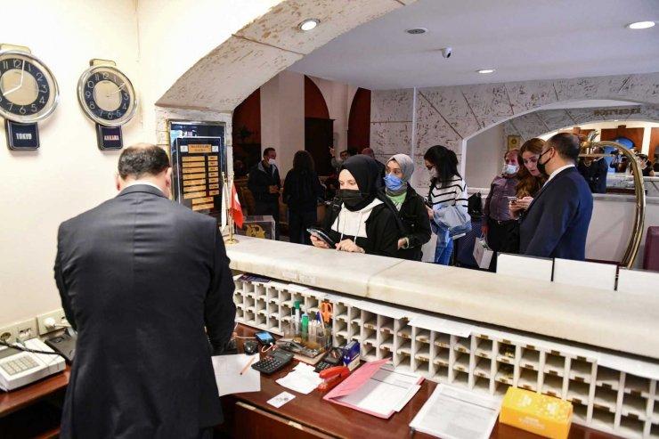 Ankara Büyükşehir Belediyesi'nden başkente okumak için gelen üniversitelilere konaklama imkanı