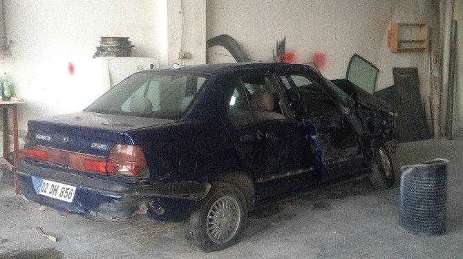 Besni'de trafik kazası: 1 yaralı