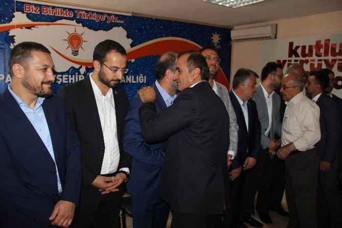 AK Parti'de bayramlaşma programı gerçekleşti