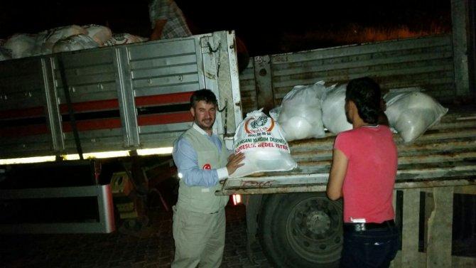 Antalya'dan Mardin'e kardeşlik eli uzandı