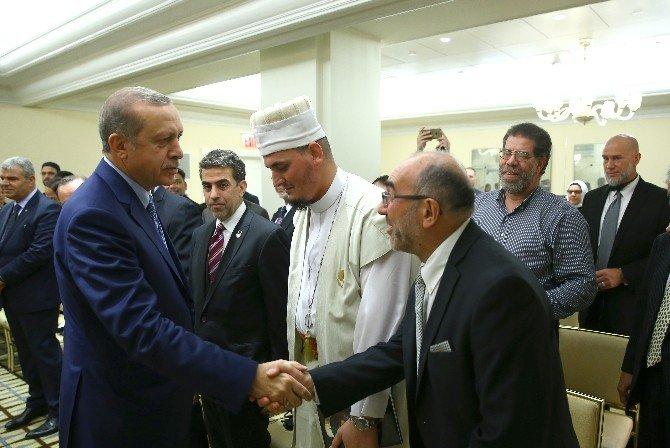 Cumhurbaşkanı Erdoğan, Müslüman Toplumu Temsilcilerini Kabul Etti