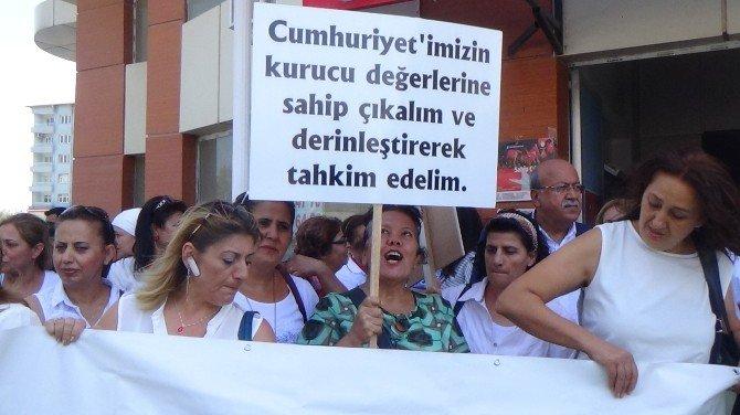 CHP Kadın Kolları Genel Başkanı Fatma Köse Hatay'da