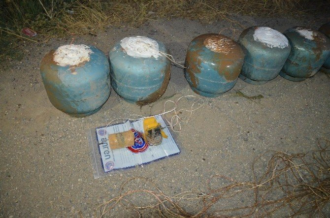 Diyarbakır'da 300 Kilogram Eyp İmha Edildi