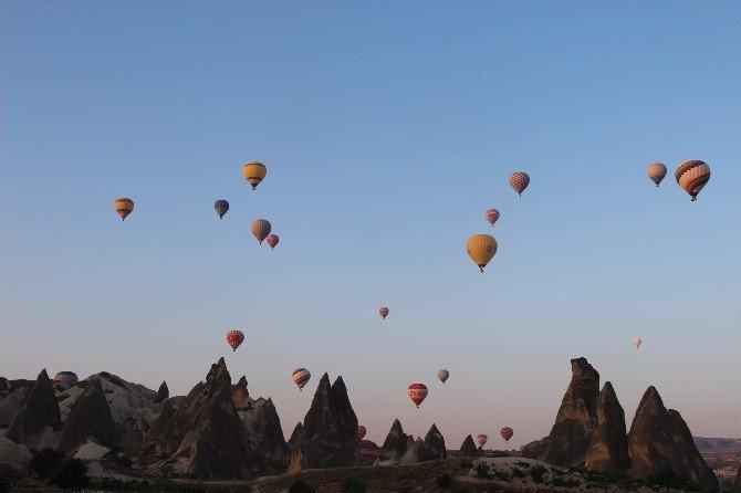 Kapadokya'da turist sayısı düşmeye devam ediyor