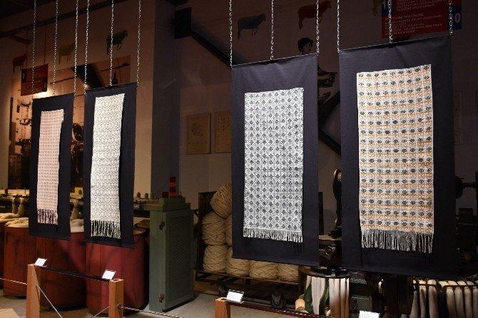 Merinos Tekstil Sanayi Müzesi'nde 'desenli dokumalar' sergisi