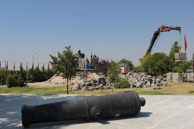 15 Temmuz Şehitler Anıtı yapılıyor