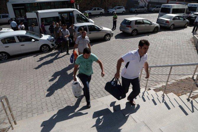 Nevşehir'de FETÖ/PDY'den 27 polis adliyeye sevk edildi