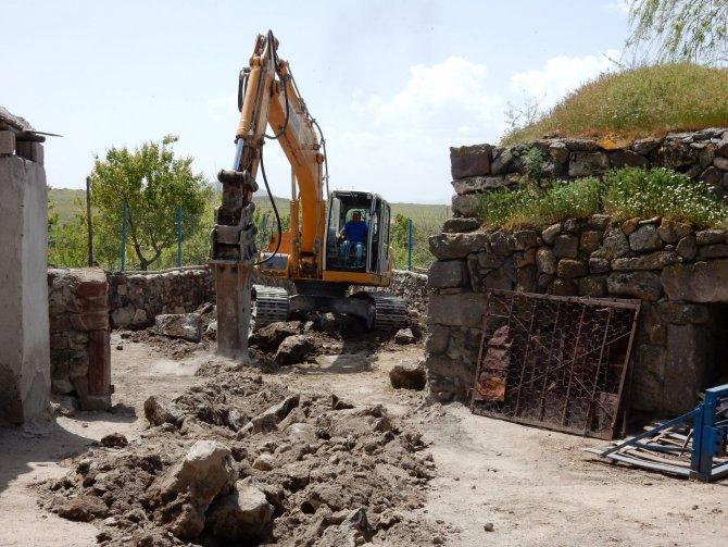 Nevşehir'in iki köyü kanalizasyona kavuşuyor