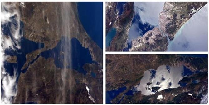Rus kozmonot uzaydan Türkiyenin Karadeniz kıyısını fotoğrafladı 62