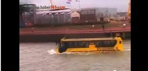 Hem Kara Hem de Deniz Otobüsü.