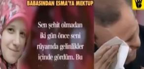 Mısırlı Esma'nın Mektubu Erdoğan'ı ağlatıyor