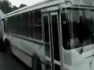 Rusya'da ilginç kaza
