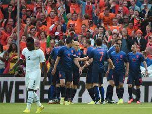 İspanya-Hollanda maçı golleri