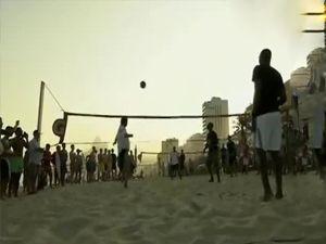Efsaneler Brezilya sahillerinde buluştu