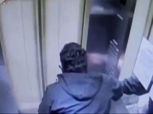 Kabus gibi asansör yolculuğu
