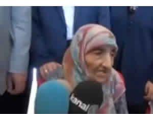 Erdoğan'a 100 yaşında teyze bağış yaptı yalanı