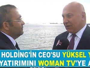 Yüksel Yıldırım, İtalya yatırımını Woman TV'ye anlattı