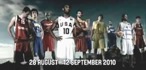 2010 FIBA Dünya Şampiyonası reklamı