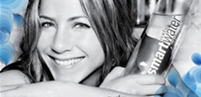 Jennifer Aniston'lu ilginç su reklamı